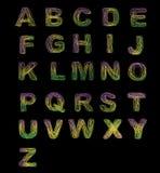 конструкция алфавита Стоковое Фото