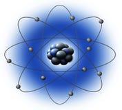 конструкция атома Стоковое Изображение RF