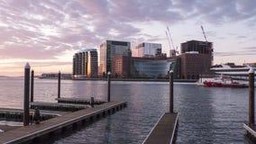 Конструкция Бостона продолжается Стоковое Фото