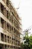 конструкция большого здания Стоковое фото RF