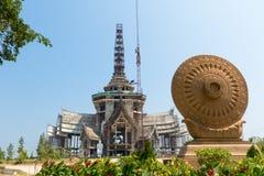 конструкция буддийского символа Стоковое Фото
