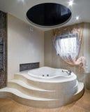конструкция ванной комнаты новая Стоковое Изображение