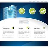 Конструкция вебсайта домашний продавать Стоковые Фото