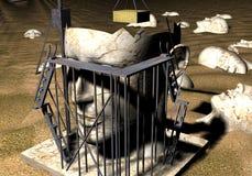конструкция вниз Стоковая Фотография RF