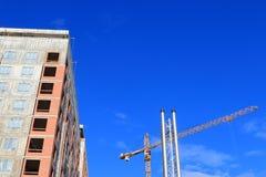 Конструкция высотного здания Стоковые Фотографии RF