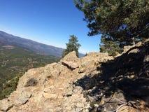 Конструкция в горах 3 Стоковые Изображения