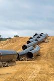 Конструкция газопровода в Греции Стоковые Фотографии RF