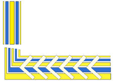 конструкция геометрическая Стоковое Изображение