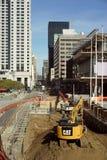 конструкция городская Стоковое Изображение