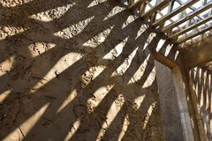 Конструкция 2 железного каркаса Стоковое Фото