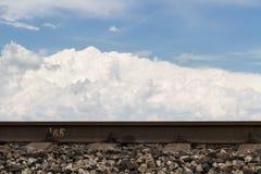 Конструкция железной дороги и своей деятельности Стоковое фото RF
