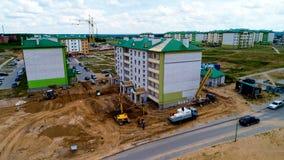 Конструкция жилого дома стоковое фото rf