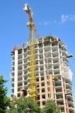 Конструкция жилого дома высотного здания Стоковое фото RF
