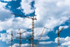 конструкция зданий селитебная Стоковая Фотография