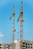 конструкция зданий селитебная Стоковое Изображение RF