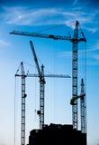 конструкция зданий селитебная Стоковые Изображения RF