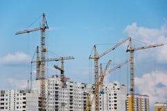 конструкция зданий селитебная Стоковое Изображение
