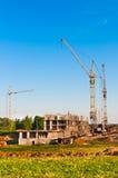 конструкция зданий селитебная Стоковое фото RF