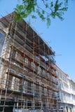 конструкция здания вниз Стоковые Изображения