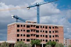 конструкция здания вниз Стоковая Фотография