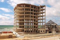 конструкция здания вниз Стоковые Фотографии RF