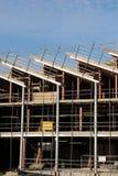 конструкция здания вниз Стоковое Изображение