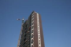 конструкция здания высокая Стоковое Фото