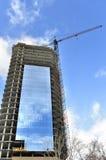 конструкция здания незаконченная Стоковые Изображения RF