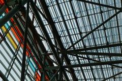 конструкция здания самомоднейшая Стоковая Фотография