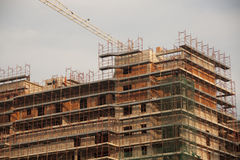 конструкция здания Стоковые Фото