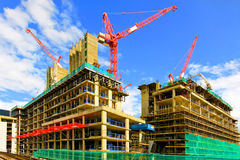 конструкция здания 2 стоковое изображение rf