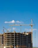 конструкция здания multistory стоковые фотографии rf