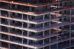 Конструкция здания в городе Лос-Анджелеса Стоковое Изображение RF