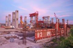 конструкция здания новая Стоковое Изображение RF