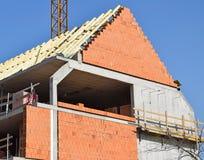 конструкция здания новая Стоковое Изображение