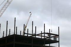 конструкция здания новая стоковые изображения rf
