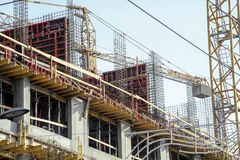 Конструкция здания Стоковое фото RF