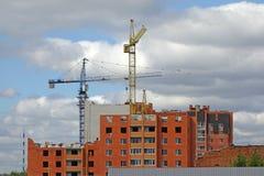 конструкция здания multistory Стоковое Изображение