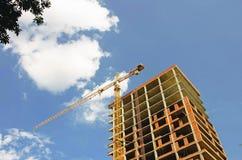 конструкция здания multistory Стоковые Фото
