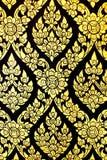 Конструкция искусства тайская Стоковая Фотография