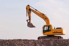 Конструкция и ремонт дорог и хайвеев Стоковая Фотография RF