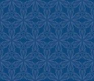 Конструкция картины ткани год сбора винограда безшовная Стоковое Изображение