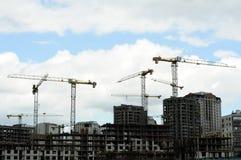 Конструкция квартала города жилого Стоковые Фотографии RF