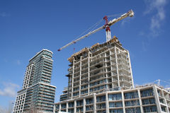 конструкция квартиры bulding Стоковая Фотография