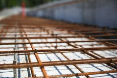 конструкция кирпичей кладя outdoors место конструкция здания новая Стоковое Изображение RF