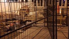 конструкция кирпичей кладя outdoors место Стоковое Изображение