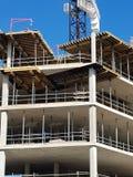 конструкция кирпичей кладя outdoors место Стоковая Фотография RF