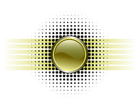 конструкция кнопки лоснистая Стоковое Фото