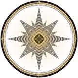 конструкция компаса Стоковые Изображения RF