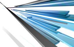 конструкция конспекта 3d глянцеватая Стоковая Фотография